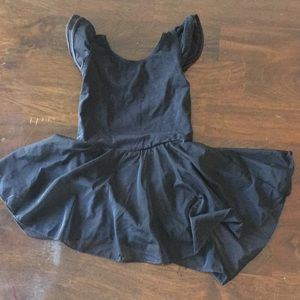 Girls Ballet Leotard with connected skirt